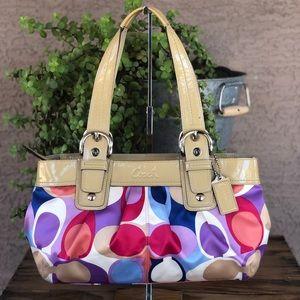 Coach hobo shoulder bag purse